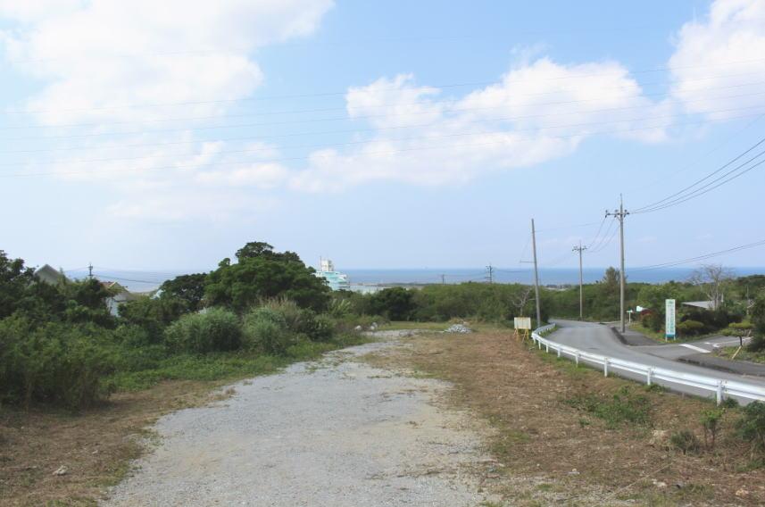 美ら海水族館の近くの海の見える売土地