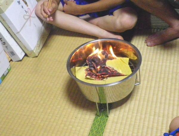 沖縄のお盆のウチカビ