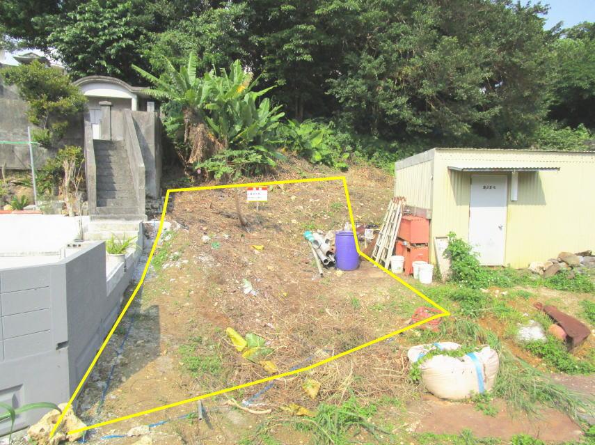 宜野湾市宜野湾の墓地向きの売土地(20坪)