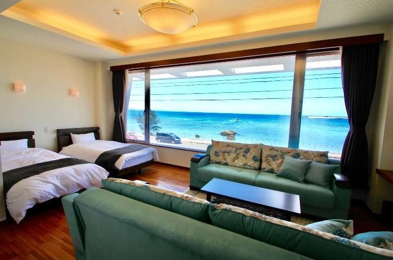 目の前が海!ビーチサイドリゾートホテル