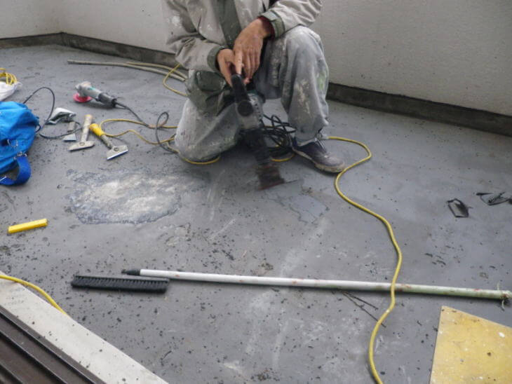 リフォーム・ベランダの防水補修