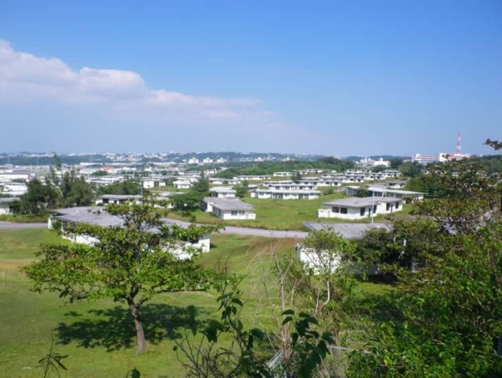 沖縄の外人住宅